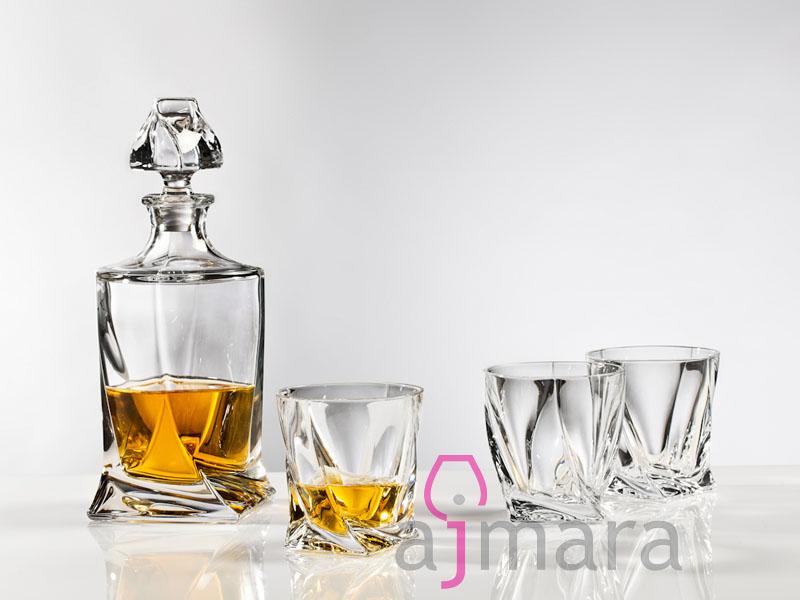 Zestaw do whisky Quadro
